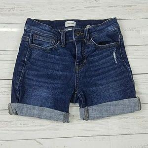 Sneak Peek Jean Shorts Size 1